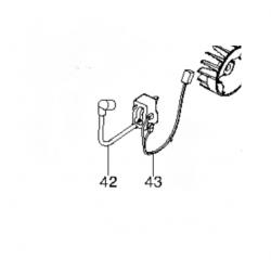 Bobine d'allumage / Bloc électronique d'origine HUSQVARNA 128R