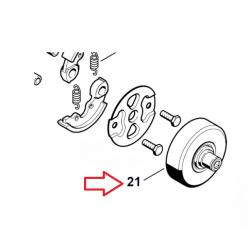 Cloche d'embrayage d'origine STIHL FS400 - FS450 - FS480