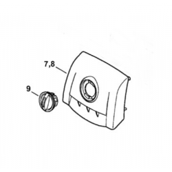 Filtre à air feutre d'origine STIHL MS193T - MS194T