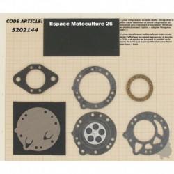 Kit réparation et membranes pour carburateur TILLOTSON Modèle HL