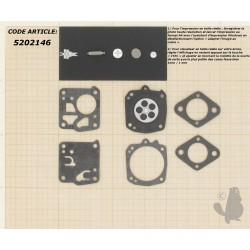 Kit réparation et membranes pour carburateur TILLOTSON Modèle HS