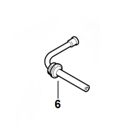 Durite / Tuyau d'huile de chaîne d'origine STIHL 020T - MS192T - MS193T - MS194T - MS200 - MS200T - MS201T