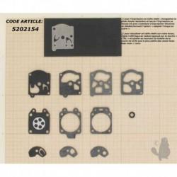 Kit Membrane pour carburateur Walbro WT et WA