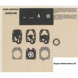 Kit de réparation et membrane pour carburateur Walbro WY