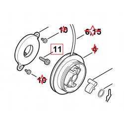 Vis à encoche d'origine STIHL FS120 - FS200 - FS250 - FS300 - FS350 - FS400 - FS450 - FS480 - FR350 - FR450 - FR480 - TS400