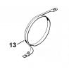 Collier de frein d'origine STIHL 044 - 046 - MS440 - MS460 - MS461