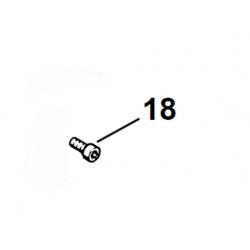 Vis cylindrique IS M4 X 12 d'origine STIHL