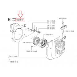Lanceur complet et d'origine HUSQVARNA K960 - PARTNER K950