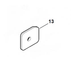 Filtre à air d'origine STIHL HS81R - HS81T - HS86R - HS86T