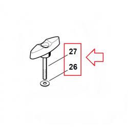 Vis à garrot d'origine STIHL FS85 - FS110 - FS120 - FS130 - FS131 - FS200 - FS240C - FS250 - FS310 - FS400 - FS450
