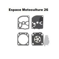 Kit membrane de type ZAMA pour STIHL BG55 - BG85 - SH55 - HS45 - FS450