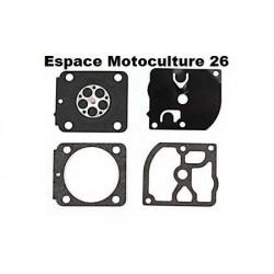 Kit membranes pour carburateur ZAMA C1Q - STIHL MS171 - MS181 - MS211 - FS85 - FS120 - BG75 etc...