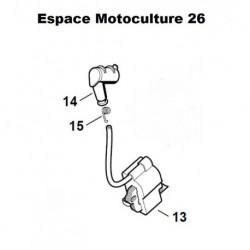 Bobine / Module d'allumage STIHL MS210C - MS230C - MS250C