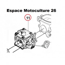 Carburateur RWJ-4B d'origine HUSQVARNA 365 X-TORQ - 372XP - X-TORQ ou JONSERED CS2166 - CS2171 - CS2172