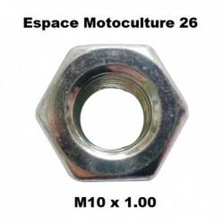 Écrou pour renvoi d'angle M10 x 1.00 (pas à gauche)