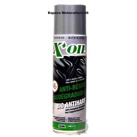 ANTI-RESINE XOIL 100% BIODEGRADABLE - Bombe aérosol de 200ML