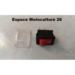 Interrupteur M/A pour Tronçonneuse - Élagueuse chinoise 2500 / 25cc