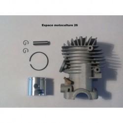 Cylindre piston ø34mm pour Tronçonneuse / Élagueuse chinoise 2500 25cc