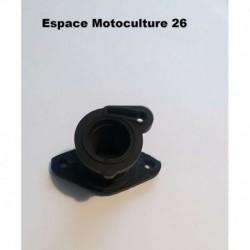 Pipe d'admission pour Élagueuse Chinoise 2500 25cc ou ZENOAH G2500 (Impulsion Droite)