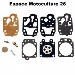 Kit de membrane et réparation pour Carburateur WALBRO Modèle WYJ
