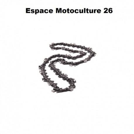 """Chaîne de tronçonneuse semi carrée PAS 3/8"""" .063 (1,6mm) 92 entraîneurs ( E92 )de marque HOLZFFORMA"""