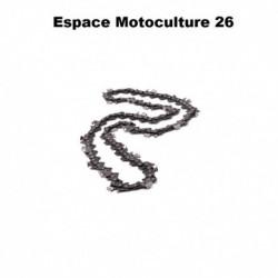 """Chaîne de tronçonneuse semi carrée PAS 3/8"""" .063 (1,6mm) 84 entraîneurs ( E84 ) de marque HOLZFFORMA"""