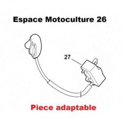 "Bobine / Module d'allumage STIHL FS120 - FS200 - FS250 ""N°27"""