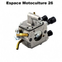 "Carburateur adaptable STIHL FS120 - FS200 - FS250 - FS300 - FS350 - FR350 - FS400 - FS450 ""Tringlerie courte 50mm"""