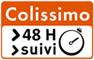 Logo livraison par Colissimo